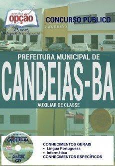 Prefeitura de Candeias (BA AUXILIAR DE CLASSE