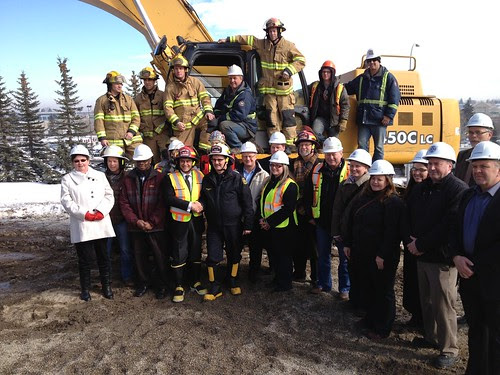 Calgary Fire Department Proudly Breaks Ground on Windsor Park Replacement Fire Station No. 11