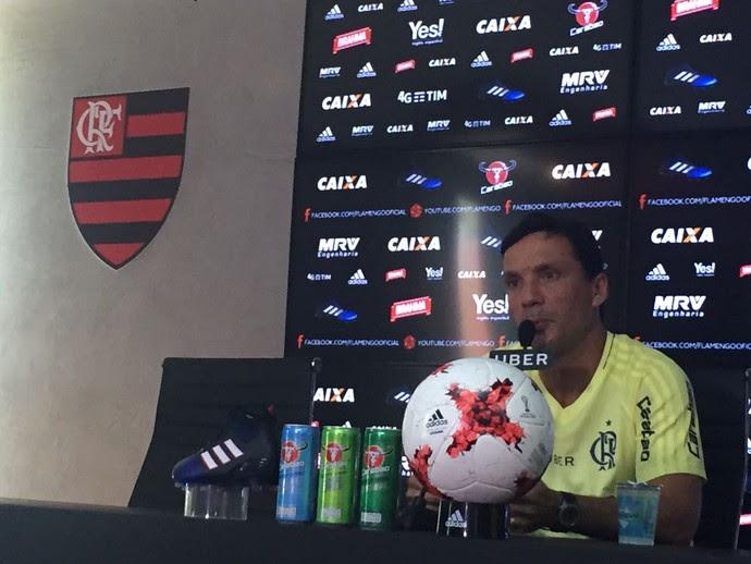 Zé Ricardo Flamengo (Foto: Raphael Zarko)
