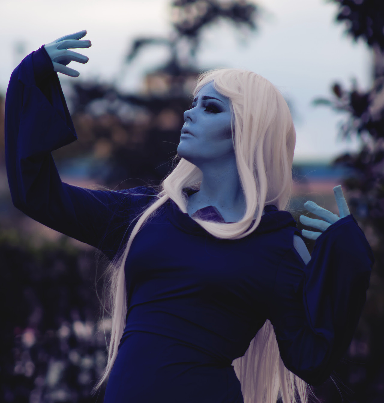My Blue Diamond cosplay from AFO last summer my boyfriend did a great job with the photos!