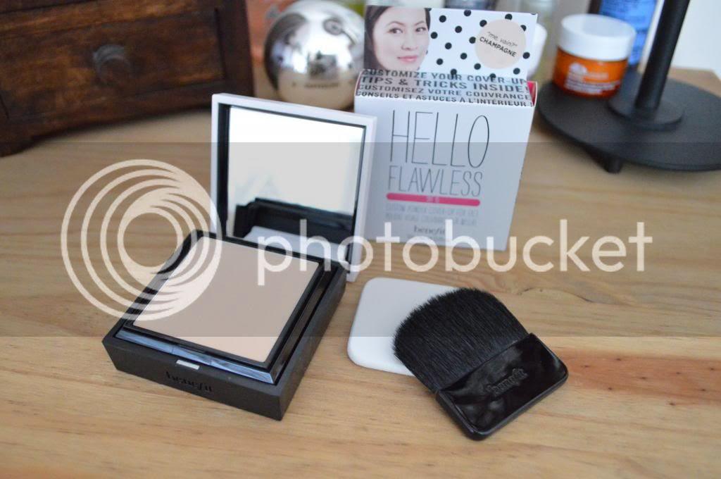 Benefit's Hello Flawless Custom Powder Beauty Blog review