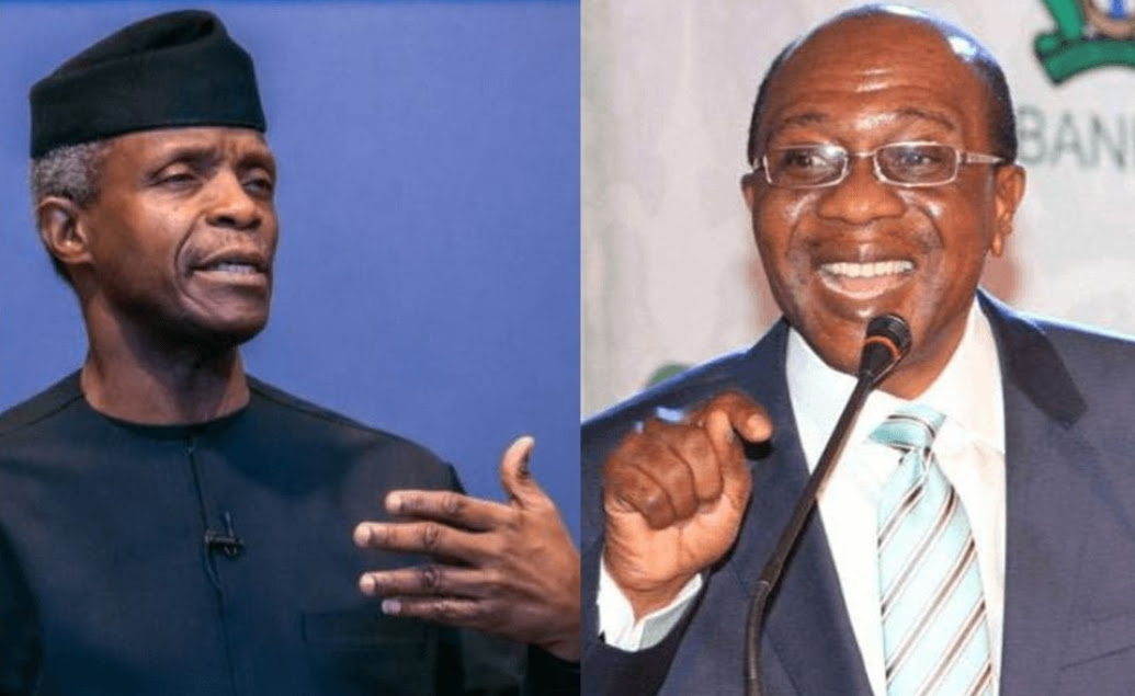 [GIST] Only N14billion Of N471billion Loans Released For Farmers By Central Bank – Osinbajo Knocks Governor Emefiele Over Nigeria's Ailing Economy