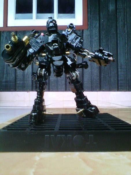 Omαh Ilmoe: Yuk, Bikin Robot dari Korek Gas Bekas!