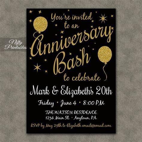 25  best Anniversary invitations ideas on Pinterest