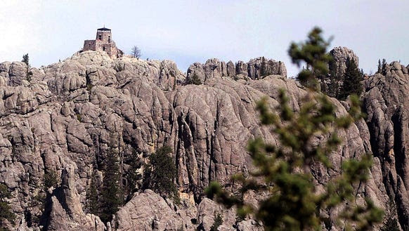 The name of Harney Peak in the Black Hills National