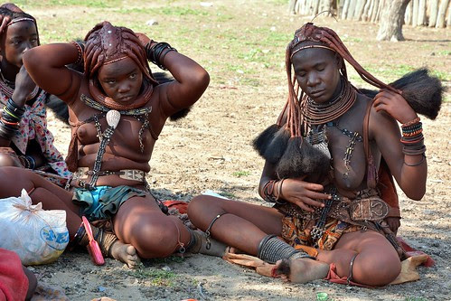 Image result for himba tribe of namibia naked