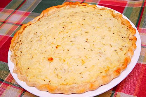 Savory Meat & Potato Pie