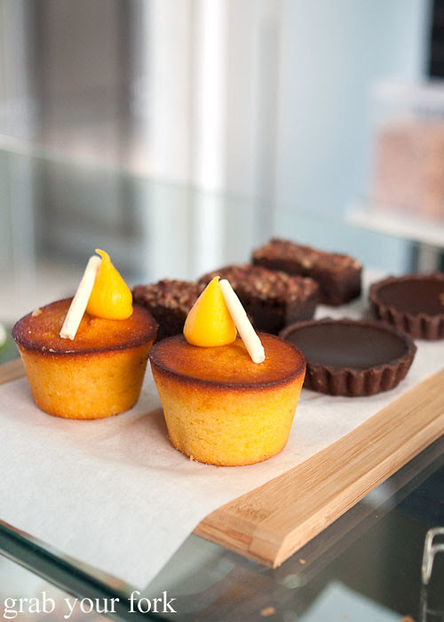 luxe bakery orange almond cake at the stables cafe surry hills