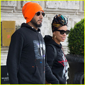 Alicia Keys & Swizz Beatz Couple Up in Berlin