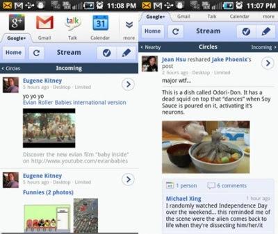 aplikasi google + android