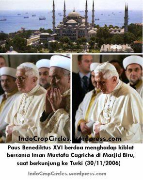 paus benediktus berdoa seperti shalat