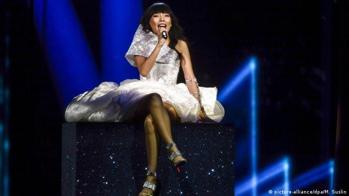 Dami Im aus Australien landete mit Sound of Silence knapp auf dem zweiten Platz (Foto: dpa)