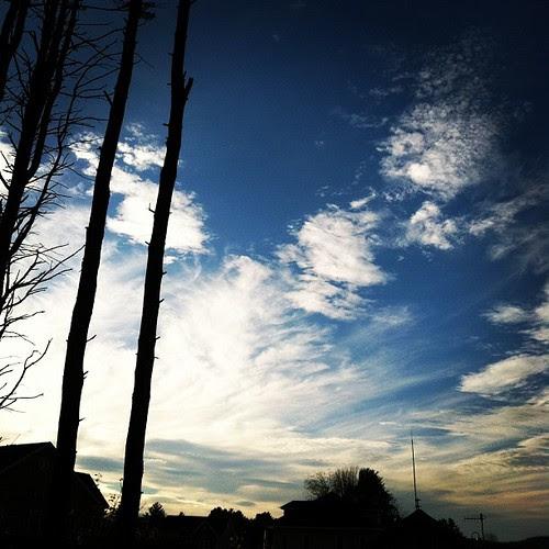 New England sky.
