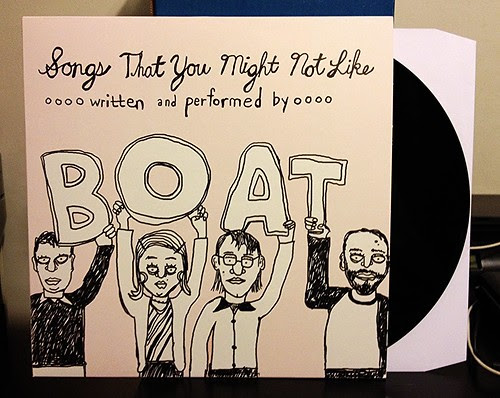 Boat - Songs That You Might Not Like LP by Tim PopKid