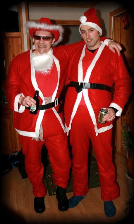 Klar for fest - Bjarne og min bror Per Tore, he-he...!!