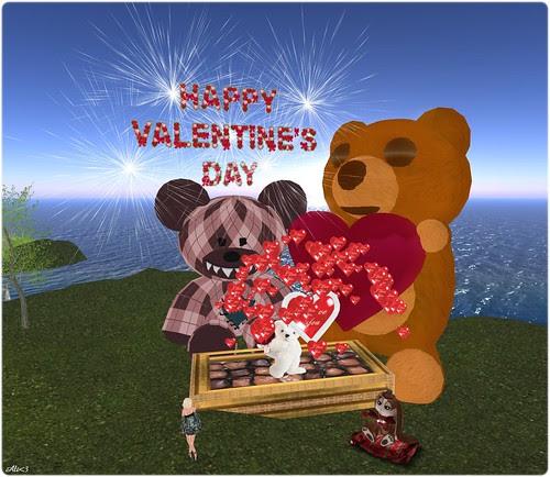 Ulaa's valentine! I do it up big!
