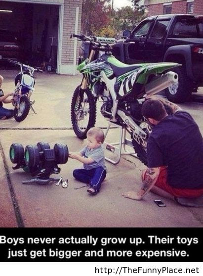 Like Father Like Son Funny Picture Thefunnyplace