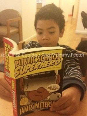 Public School Superhero Book by James Patterson and Chris Tebbetts