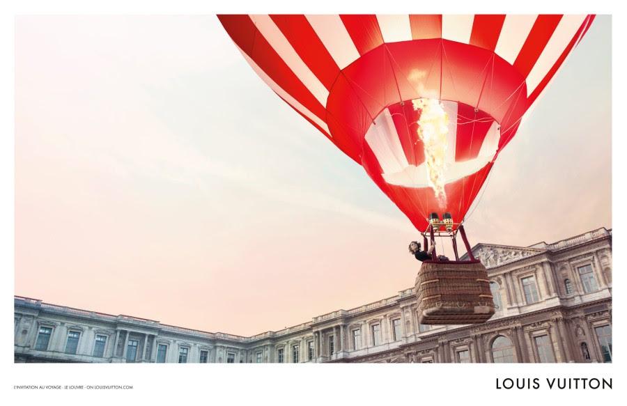 louis vuitton1 Arizona Muse Takes Flight for Louis Vuittons L'invitation au Voyage Campaign by Inez & Vinoodh