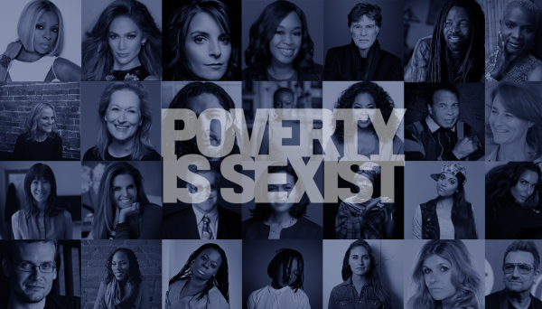 Poverty is Sexist: Oprah Winfrey, Melinda Gates, Sheryl Sandberg, Bono, Sir Elton John and Muhammad Ali among names joining ONE Campaign's call for global gender equality