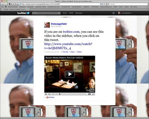 YouTube Video Inline on Twitter