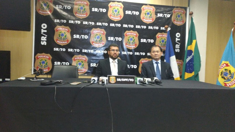 Delegado da Polícia Federal fala sobre Operação Lucas (Foto: Jesana de Jesus/G1)