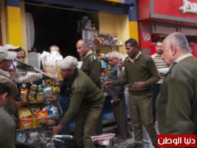 بالصور .. مديرية امن اسيوط تضبط 19 قضية مرافق و25 قضية تموين خلال حملة امنية