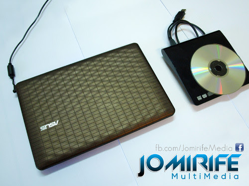 Asus EeePC 1008P Seashell Karim Rashid Collection para instalação de OS que não têm leitor de DVD