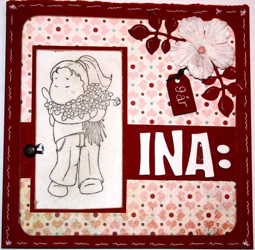 Ina 9 år - forside