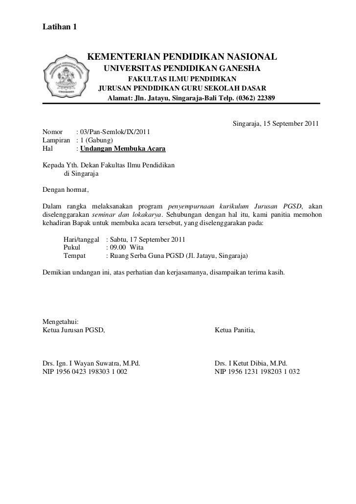 Latihan 1 TIK_ Surat Kementerian Pendidikan Nasional