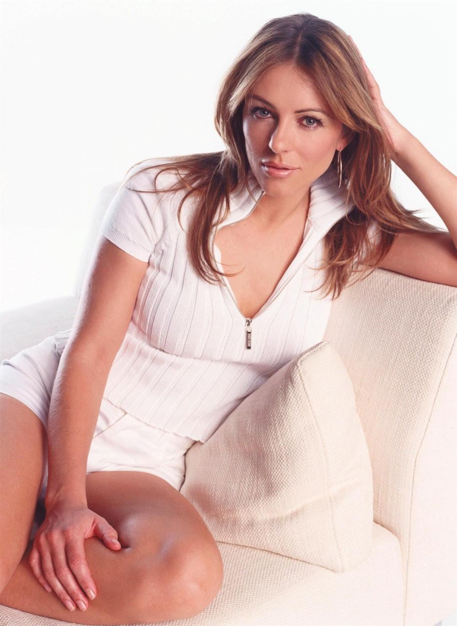 Актриса Элизабет Херли во всей своей красе.