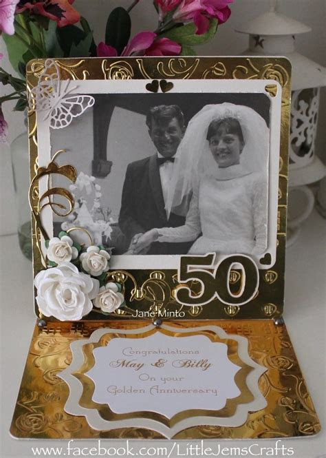 286 best 50th anniversary cards images on Pinterest   50th