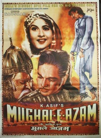 Mughal-E-Azam 1960 Hindi 480P BrRip 550MB