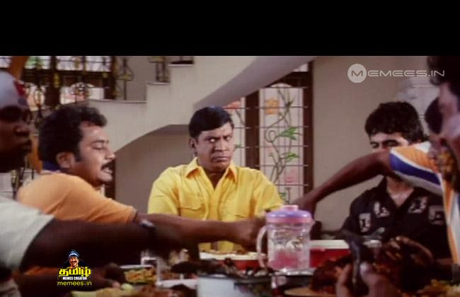 Image result for vadivelu with food memes