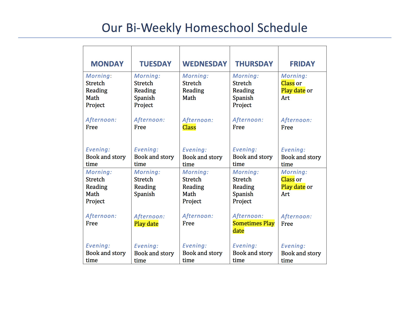 Our 1st Grade Homeschool Schedule and Curriculum | Mama of Letters