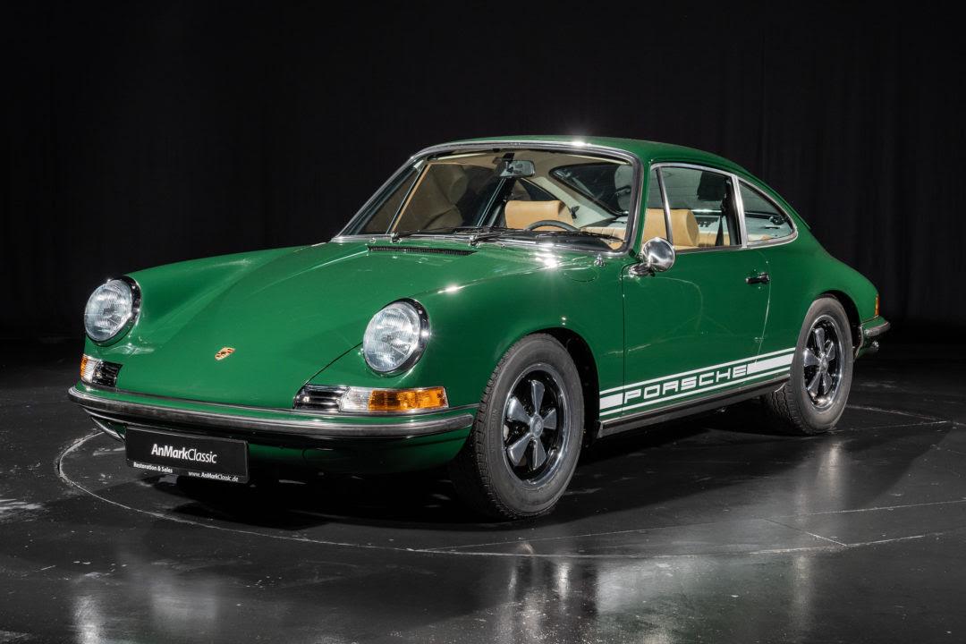 Anmark Classic Fully Restored 1970 Porsche 911 Irish Green