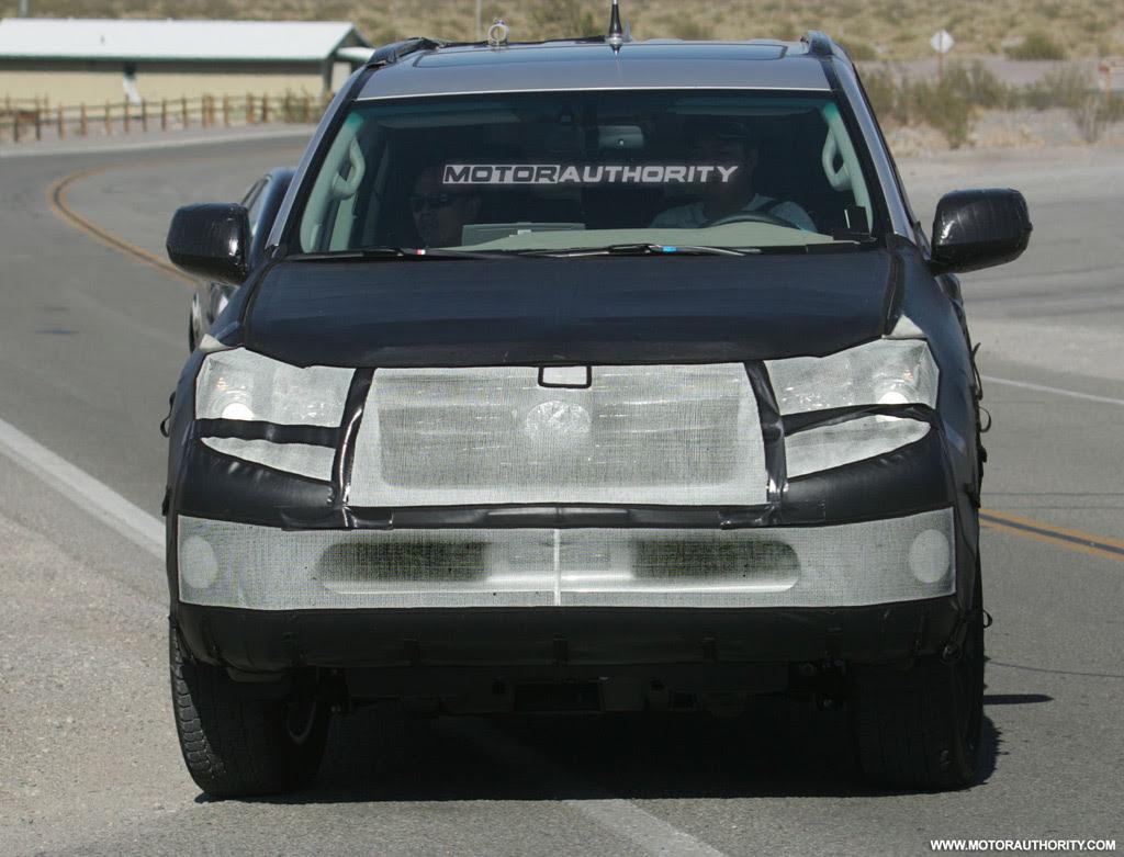 2010 Lexus GX 460 SUV spy shots