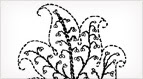 Free Embroidery Pattern: Single Leaf