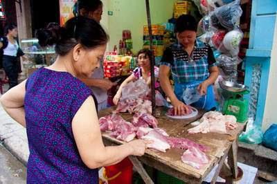 thịt lợn, thịt tăng trọng
