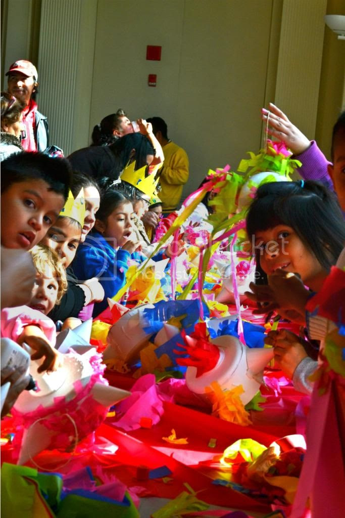 Making Mexican Pinatas