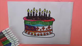 All Clip Of Doğum Günü Boyama Sayfası Bhclipcom
