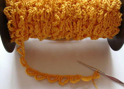 large picot edging