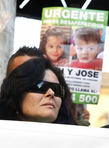 Ruth Ortiz, la madre de los niños desaparecidos Ruth y José Bretón, en una manisfestación en Córdoba, el pasado enero.