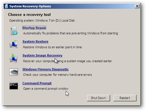 cara repair disk