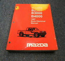 1997 Mazda B2300 B3000 B4000 Body Electrical Wiring ...