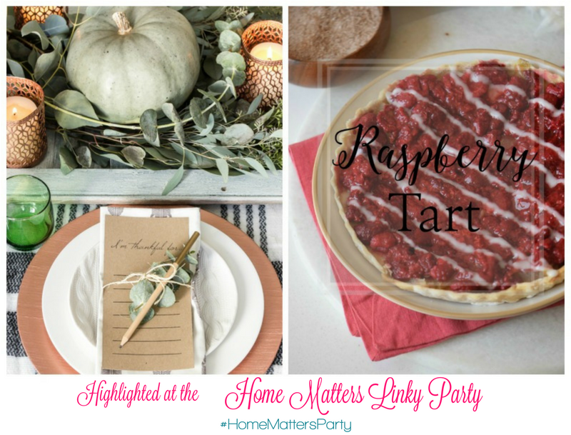 http://ourcraftymom.com/home-matters-linky-party-112/