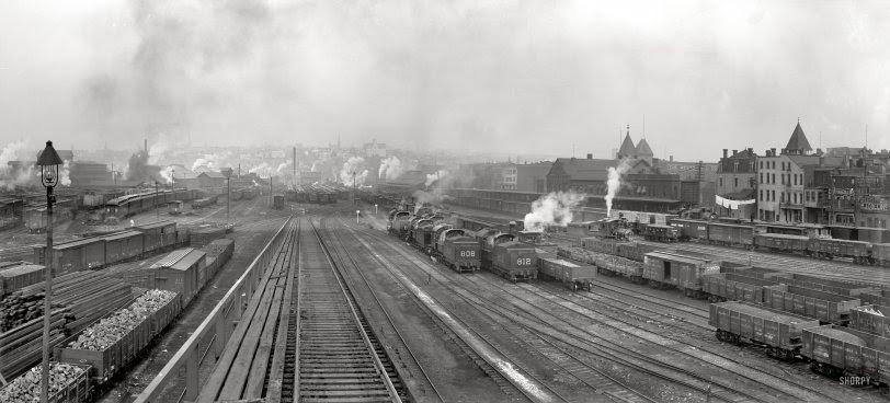 Delaware, Lackawanna & Western: 1900