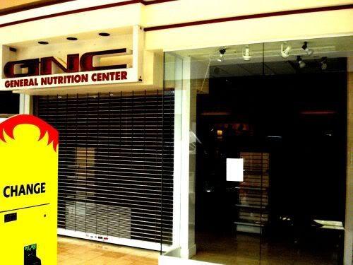 Empty Store 2 GNC