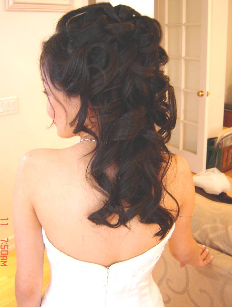 Hairstyles For Prom Half Up Half Down PictureFuneral Program Designs