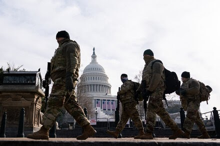 TREND ESSENCE:New Warnings of Violence as Security Tightens for Inauguration
